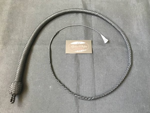 Junior Series Snake Whip schwarz