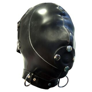 Mister B Rubber Extreme Hood With Removable Gag